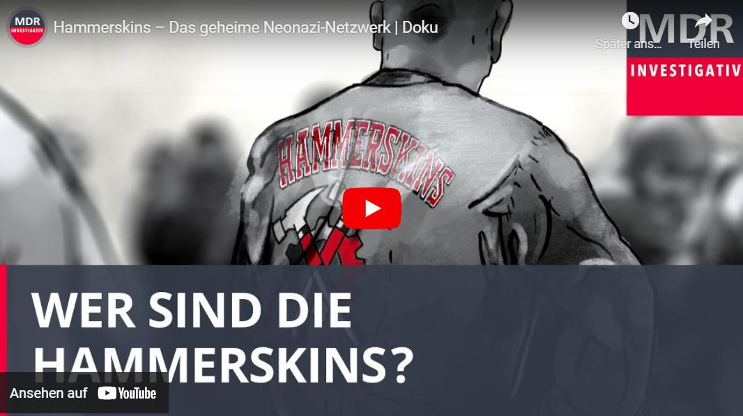 MDR-Doku: Hammerskins – Das geheime Neonazi-Netzwerk
