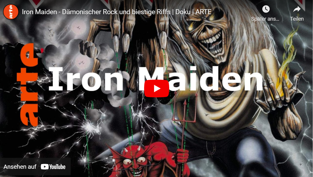 ARTE-Doku: Iron Maiden - Dämonischer Rock und biestige Riffs