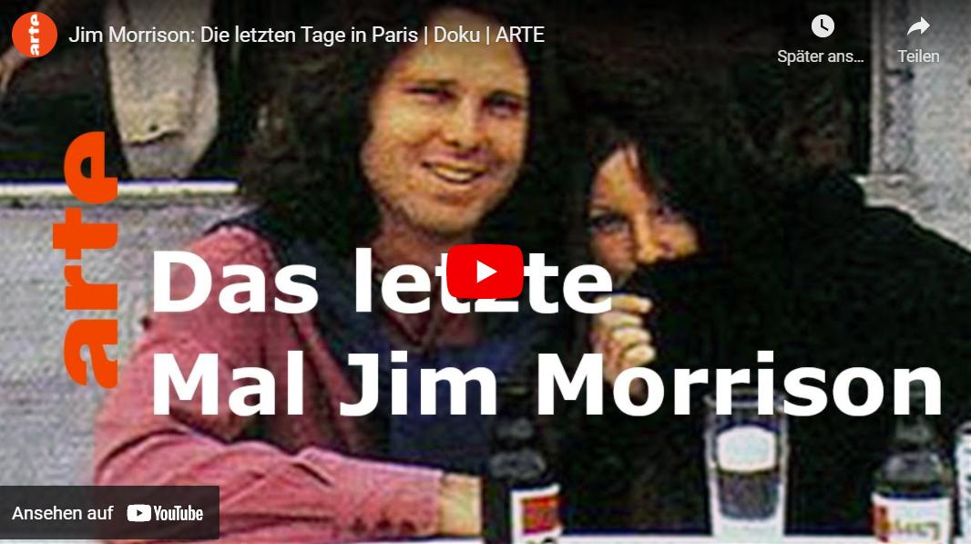 ARTE-Doku: Jim Morrison - Die letzten Tage in Paris