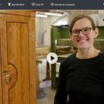 ZDF-Doku: »Ich bin meine eigene Chefin!« - Johanna ist Tischlermeisterin und liebt das Handwerk | 37 Grad
