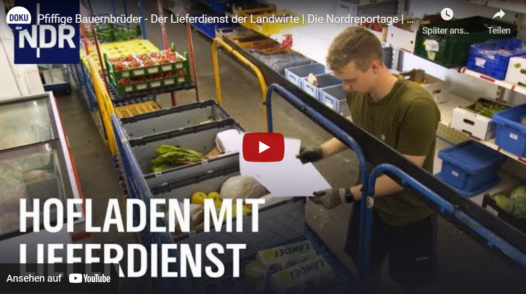 NDR-Doku: Pfiffige Bauernbrüder - Der Lieferdienst der Landwirte