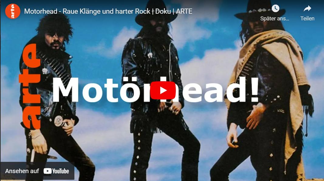 ARTE-Doku: Motörhead - Raue Klänge und harter Rock