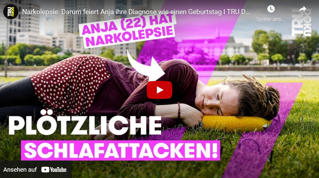 TRU DOKU: Narkolepsie - Darum feiert Anja ihre Diagnose wie einen Geburtstag