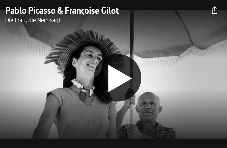 ARTE-Doku: Pablo Picasso & Françoise Gilot - Die Frau, die Nein sagt