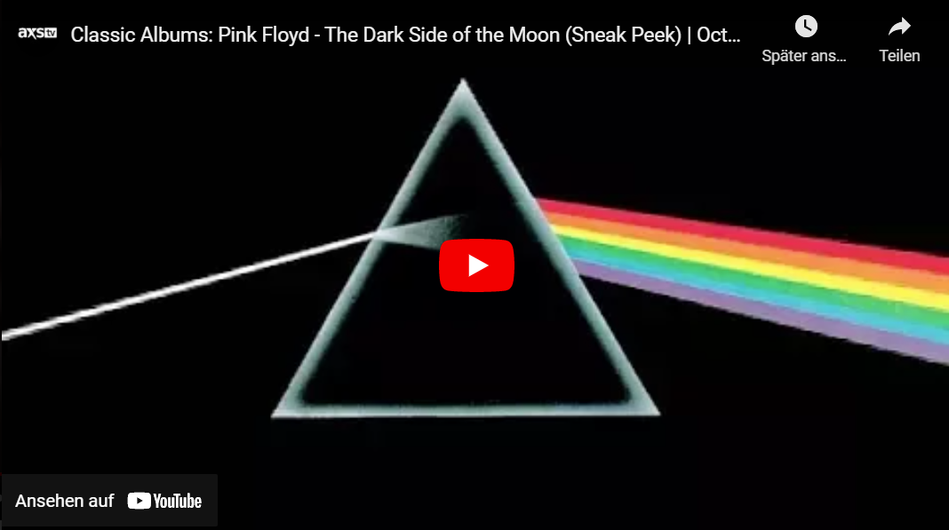 Prime Video: Pink Floyd - The Making Of The Dark Side Of The Moon (Classic Album)