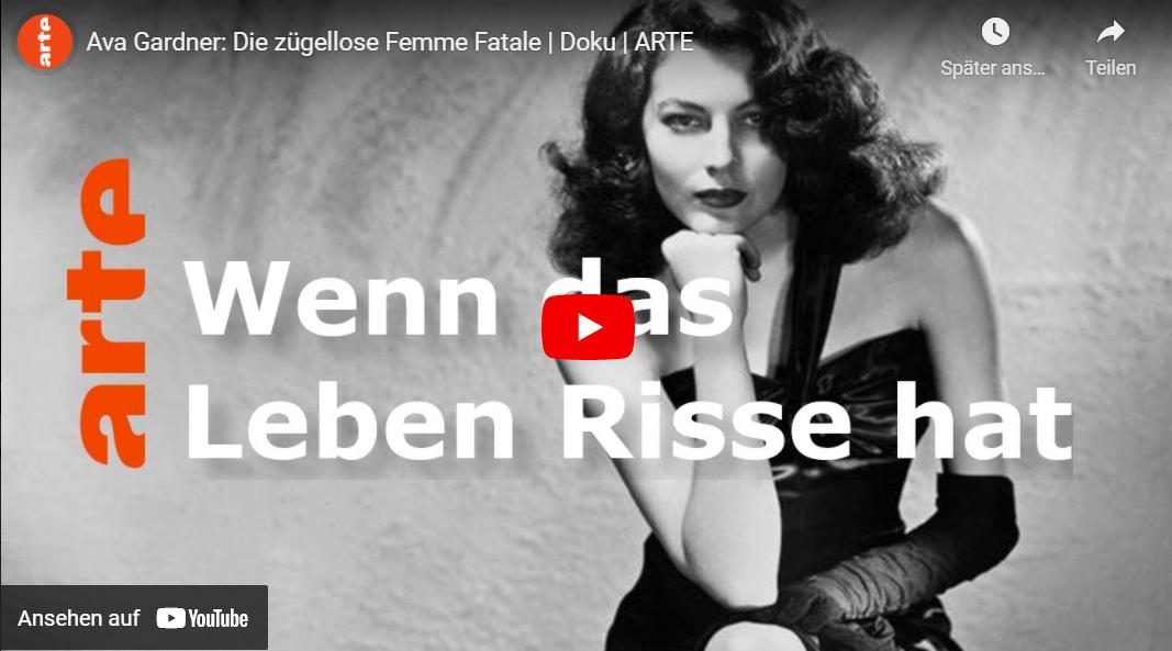 ARTE-Doku: Ava Gardner - Die zügellose Femme Fatale