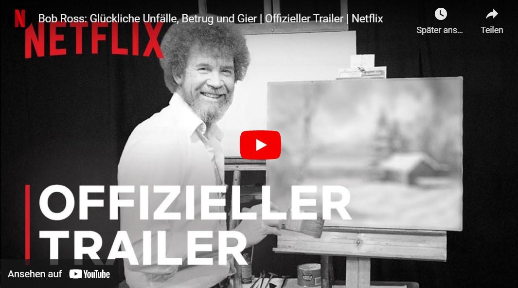 Netflix-Doku: Bob Ross - Glückliche Unfälle, Betrug und Gier