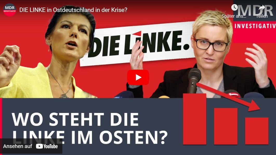 MDR-Doku: DIE LINKE in Ostdeutschland in der Krise?