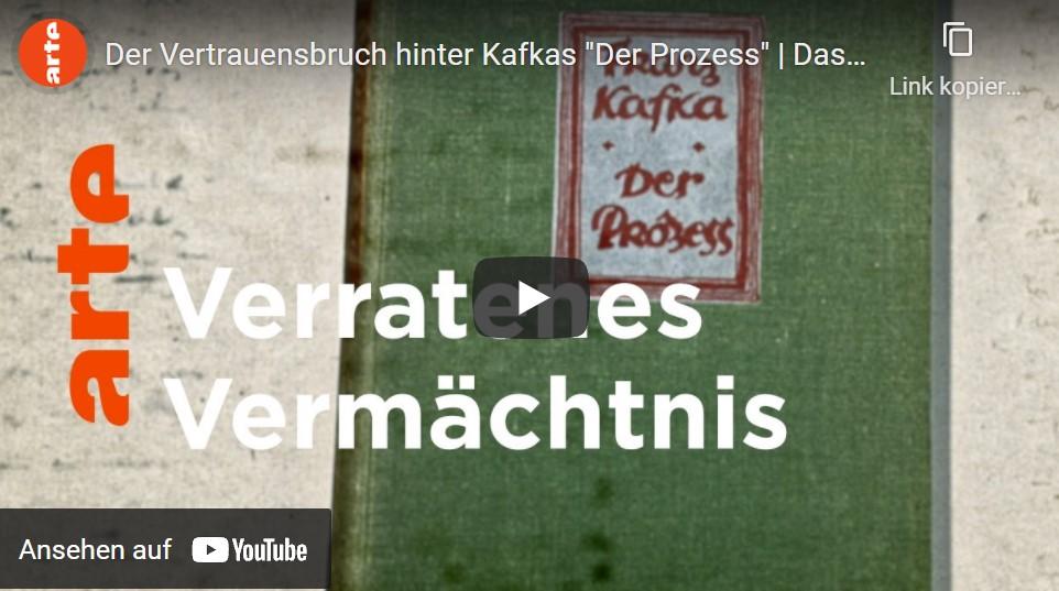 ARTE-Doku: Der Vertrauensbruch hinter Kafkas »Der Prozess«