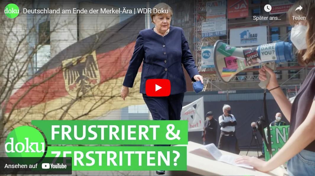 WDR-Doku: Deutschland am Ende der Merkel-Ära