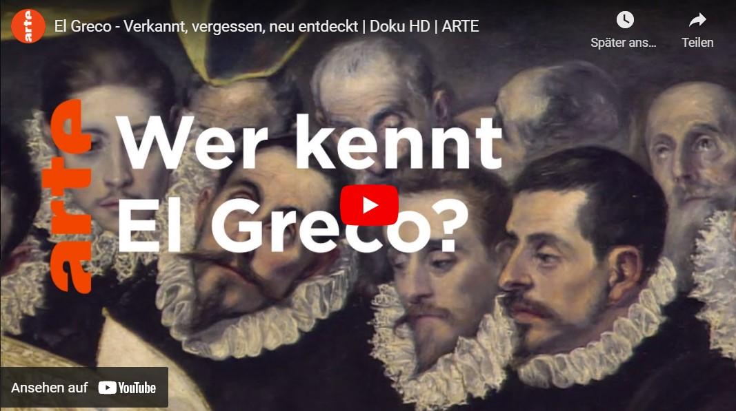 ARTE-Doku: El Greco - Verkannt, vergessen, neu entdeckt