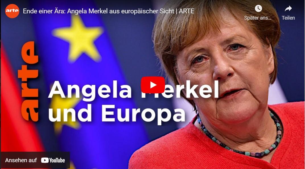 ARTE-Doku: Ende einer Ära - Angela Merkel aus europäischer Sicht