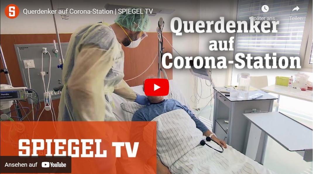 SPIEGEL TV: Querdenker auf Corona-Station