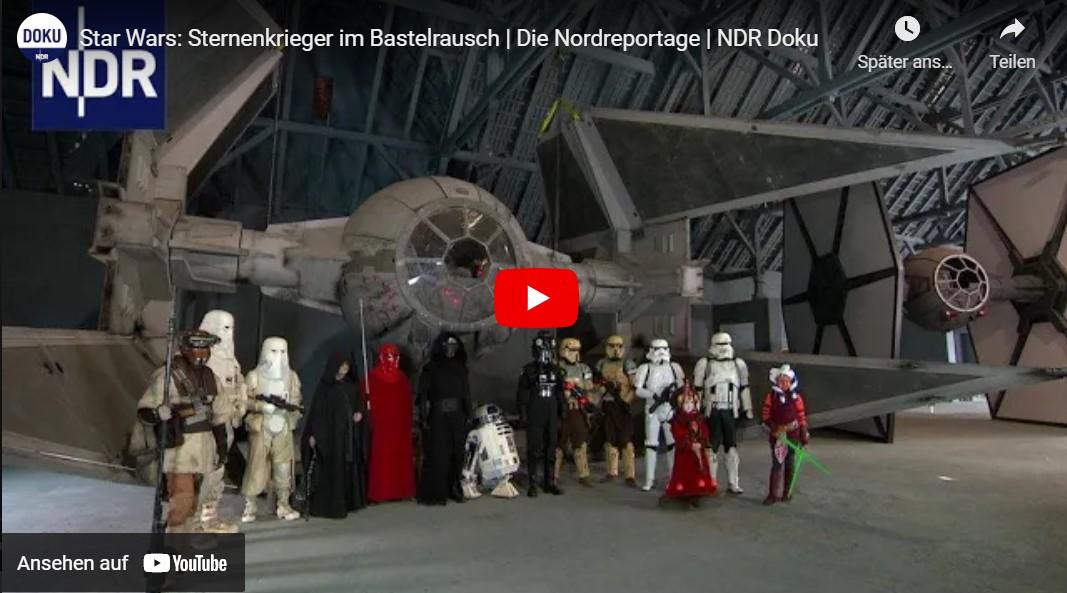 NDR-Doku: Star Wars - Sternenkrieger im Bastelrausch