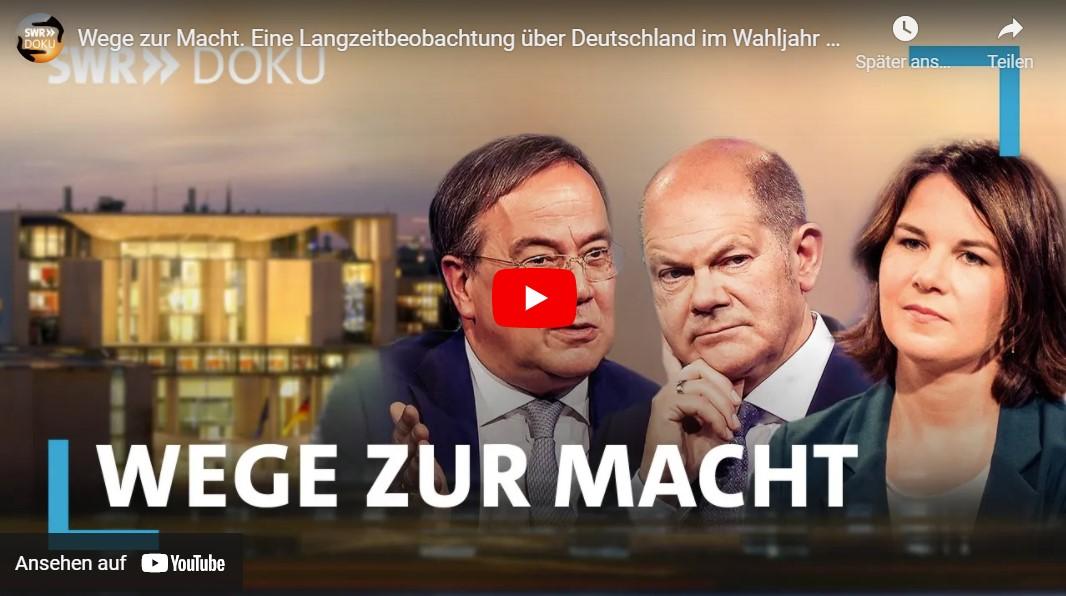 SWR-Doku: Wege zur Macht. Eine Langzeitbeobachtung über Deutschland im Wahljahr