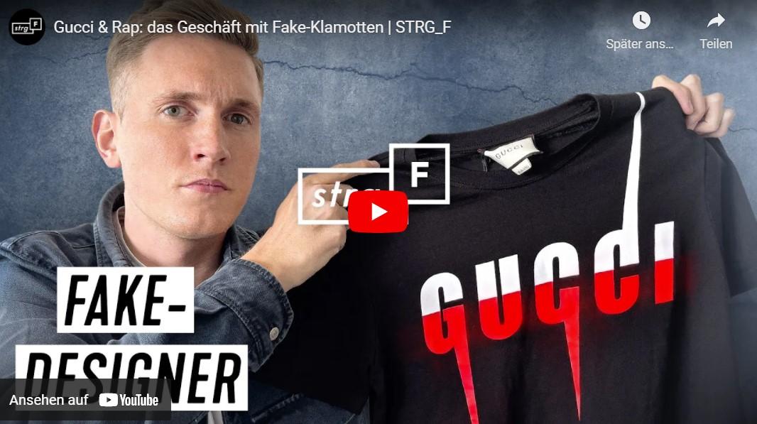 STRG_F: Gucci & Rap - das Geschäft mit Fake-Designerklamotten