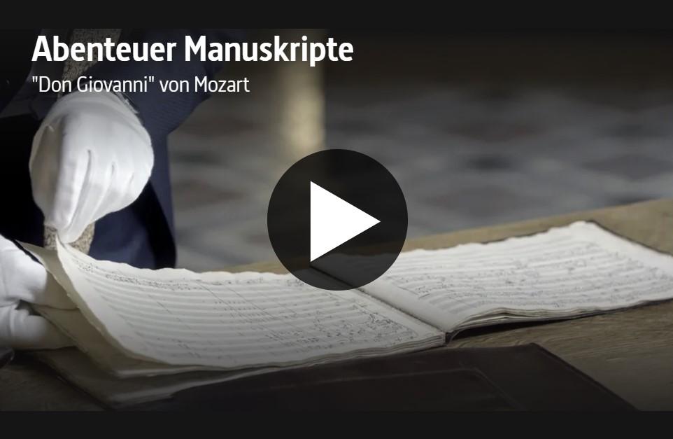 ARTE-Doku: Abenteuer Manuskripte - »Don Giovanni« von Mozart