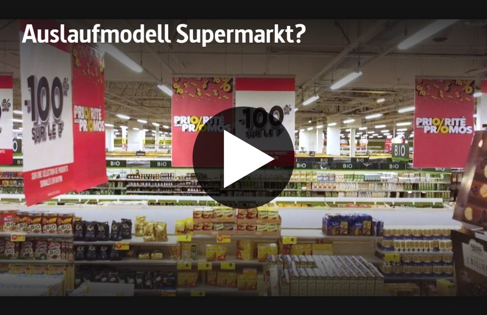 ARTE-Doku: Auslaufmodell Supermarkt?