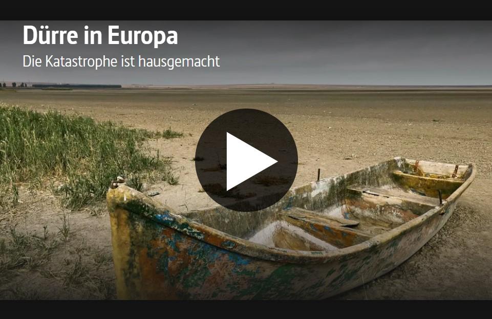 ARTE-Doku: Dürre in Europa - Die Katastrophe ist hausgemacht