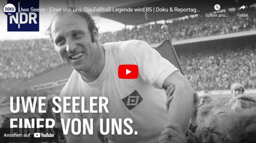 NDR-Doku: Uwe Seeler, einer von uns - Die Fußball-Legende wird 85