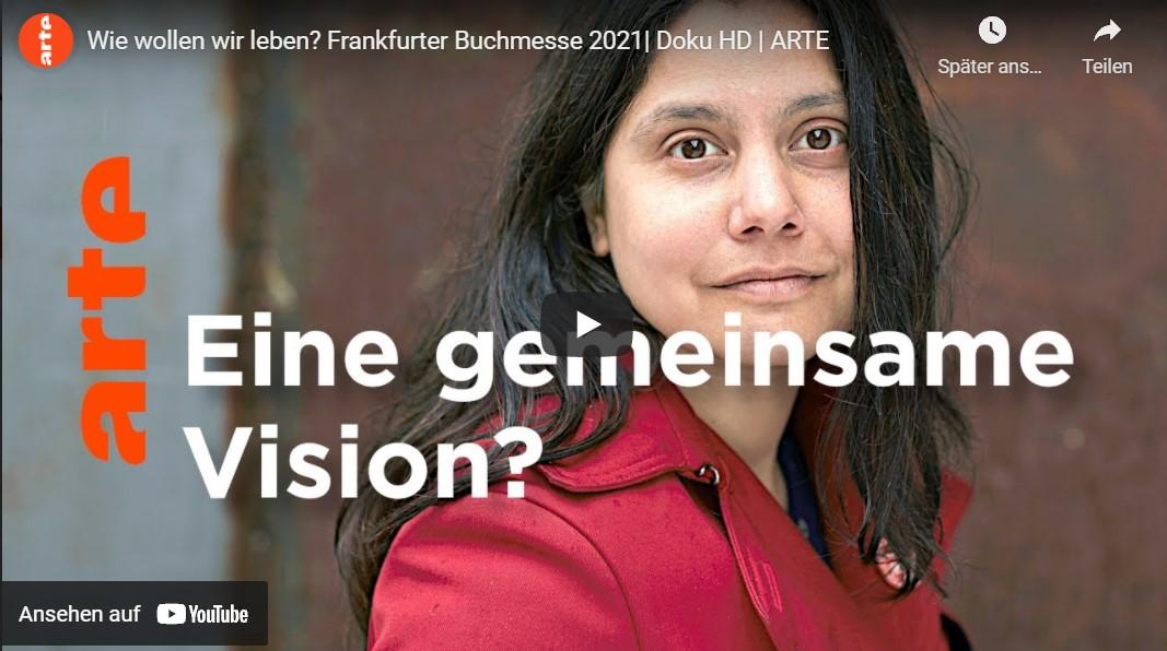 ARTE: Wie wollen wir leben? Frankfurter Buchmesse 2021